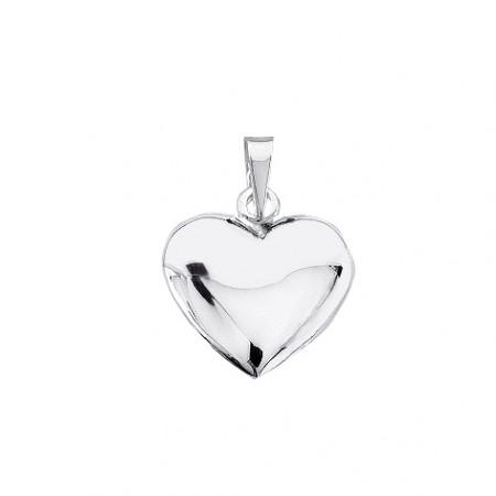 Vedhæng Hjerte Sølv