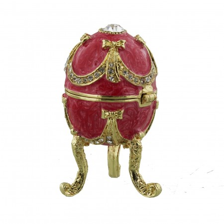 Dekorations æg, rød, lille