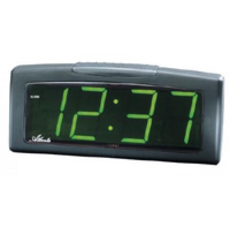 Vækkeur, 220V med grønne tal - 197-7