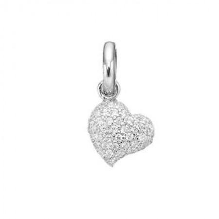 STORY Sparkle Heart, sølv