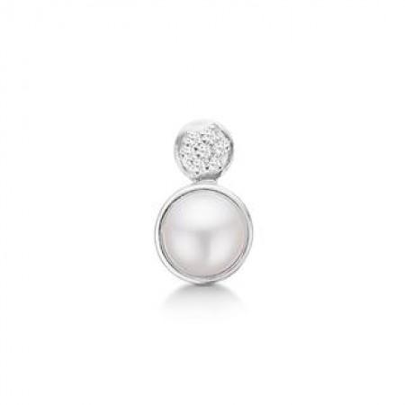 STORY Pearl glitter, sølv