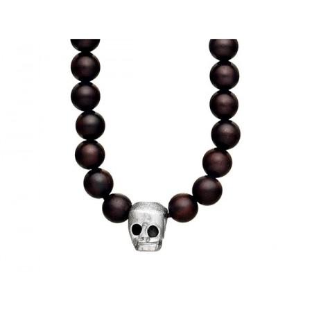 Halssmykke i sølv m/kranium- 4403857-47