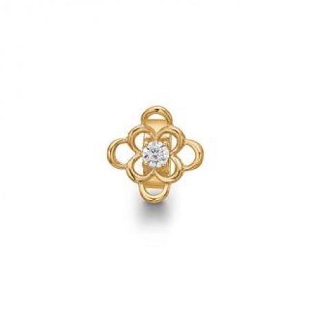 STORY Anemone Ring, forgyldt