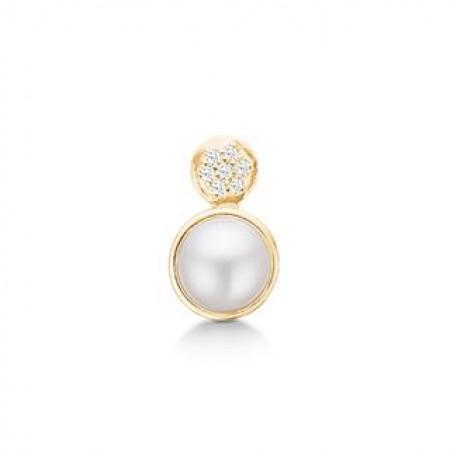 STORY Pearl glitter, forgyldt