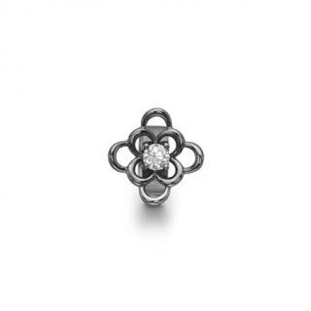 STORY Anemone, sort sølv
