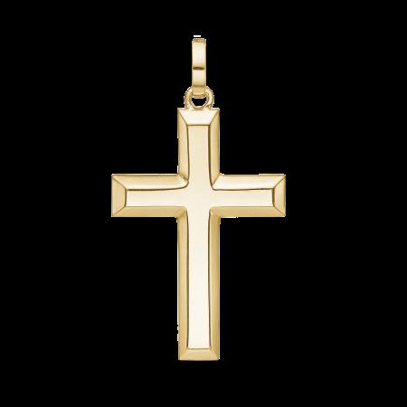 Guld vedhæng, kors, 8 karat guld