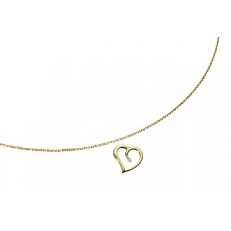 Hjerte med diamant GSD-8080/7