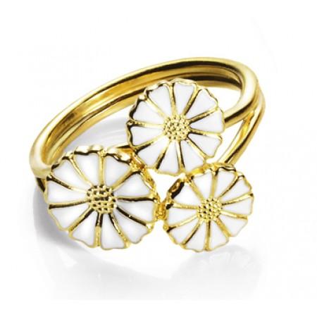 Marguerit ring Lund - 3 blomster