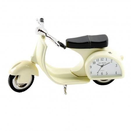Miniature ur, scooter, dekoration