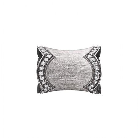 STORY Bordered Pipe, sort sølv