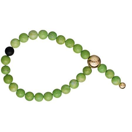 "Imagine armbånd, Apple"" green jaspis"