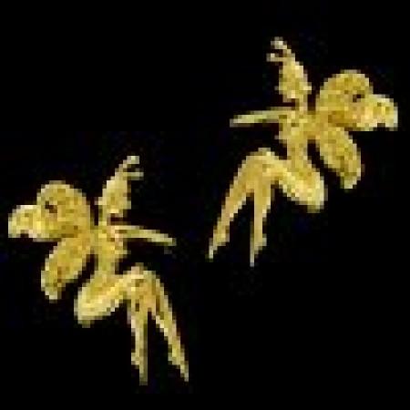 Farie Gold Vermeil Ear Cuff Earrings