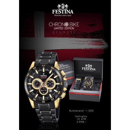 Festina Chrono Bike Limited Edition Denmark 2018