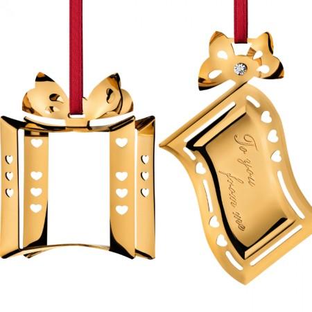 Julepynt 2009 - Sæt med 2 stk