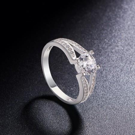 Sølv ring med zirconia JR510A