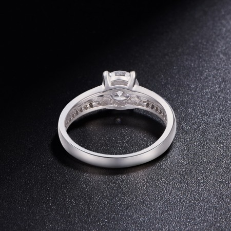 Sølv ring med zirconia JR515A