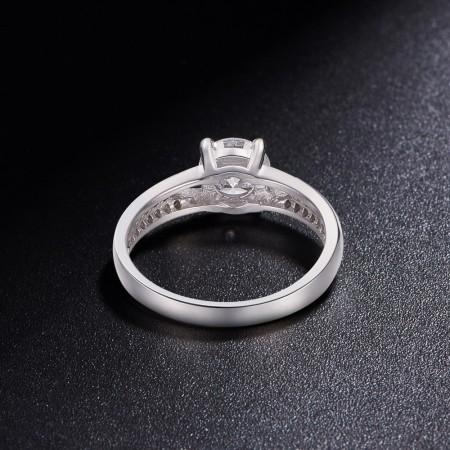 Sølv ring med zirconia JR515A