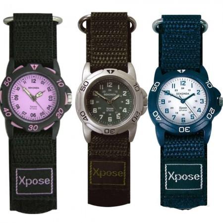 Børne ure med velcro rem