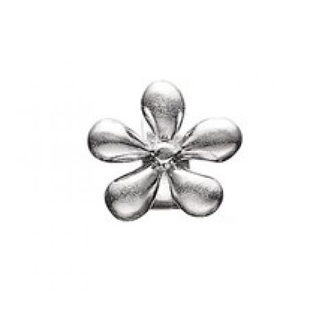 STORY sølvled med blomst-3