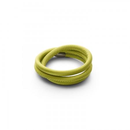 Story armbånd i grønt silke