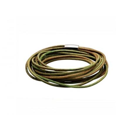 Armbånd 6 strenget, armygrøn