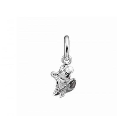Story sølv charm, klokkeblomst