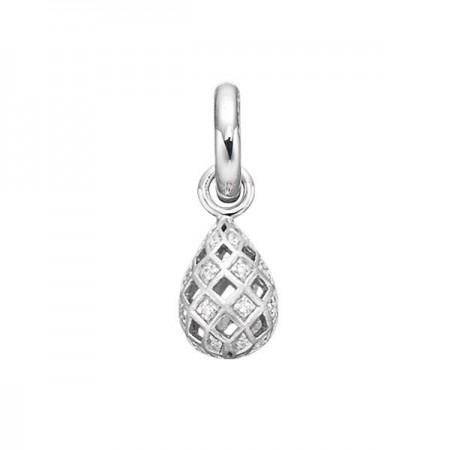 Story sølv charm, harlekin