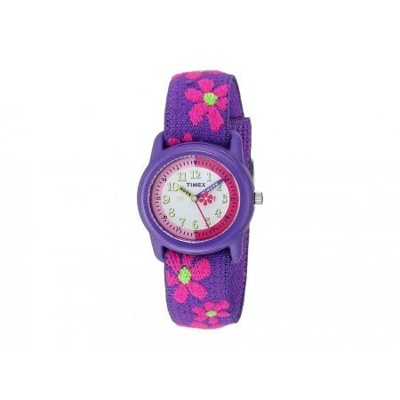 Timex Pige ur med blomster
