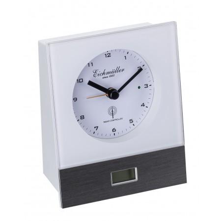 Radiostyret vækkeur med digital display