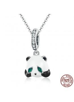 Halskæde med panda vedhæng.