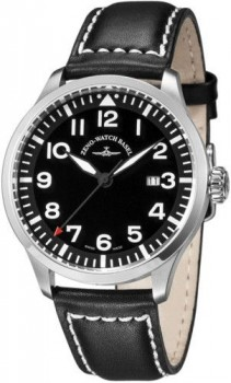 Zeno Watch Basel Navigator NG Quartz, black