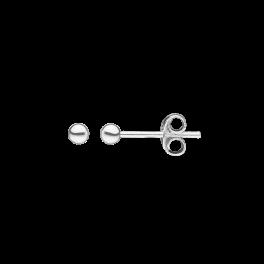 Ørestikker i sølv - Kugle 3 mm