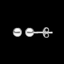 Ørestikker i sølv - Kugle 5 mm
