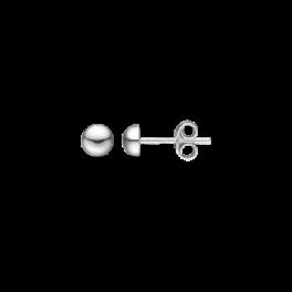 Ørestikker i sølv - Halvkugle 5 mm