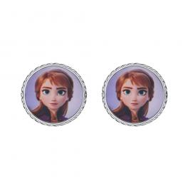 DisneyFrost sølv ørestikker oval med Elsa og syntetisk cubic zirconia i bunden. Smukke Frost ørestikker til pigen som elsker Anna & Elsa, Støvring Design har lavet denne fantastiske Frost serie til alle Frost pigerne. Ørestikkerne passer perfekt til ha