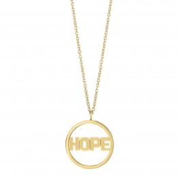 Halskæde HOPE med vedhæng 225 129-3