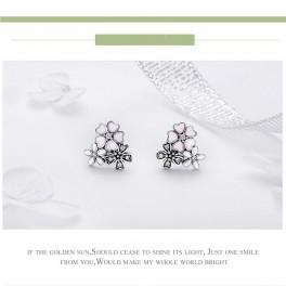 blomster ørestikker EJEW-FF0006-02