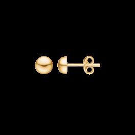 8 kt. guld ørestikker 6 mm halvkugle.