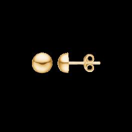 8 kt. guld ørestikker 7 mm halvkugle.