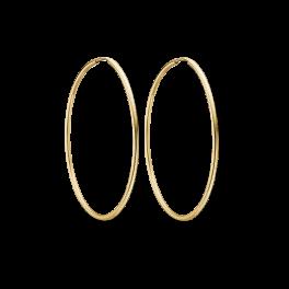 Guld creoler i 8 karat guld 60166840