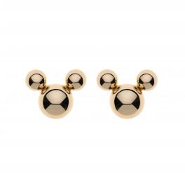 9 kt. guld ørestikker Mickey Mouse af 3 kugler designet af Støvring Design.