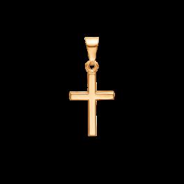 Kors vedhæng i 8 karat guld. Størrelse: 19 x 28 mm