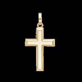 Kors vedhæng i 8 karat guld 64242982