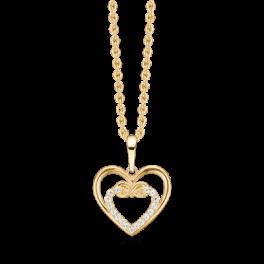 Mor & Barn 8 kt. guld halskæde