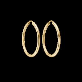 Guld creoler i 8 karat guld. 60166530