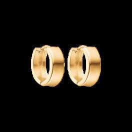 Guld creoler i 8 karat guld med knæk åbning 60166541
