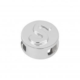 Rhd. Sølv led S rund TIML 8mm