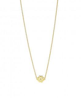 Marguerit halskæde med kløver 902022-M