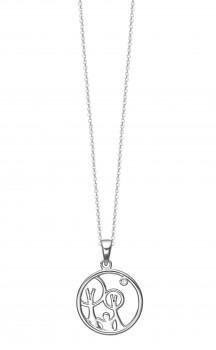 Red Barnet halskæde i sølv 1680-KV-RB-S