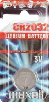 Lithium 3 V, CR2032-20